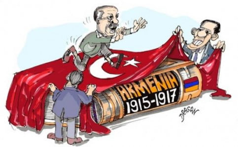 """Τι σημαίνει το """"αρμένικο"""" χαστούκι στον Ερντογάν…"""