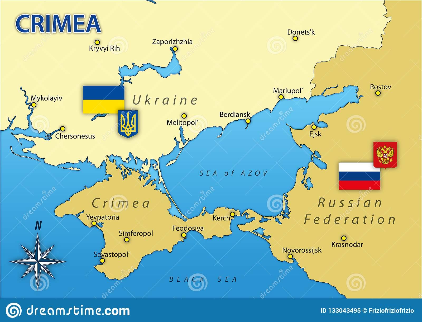 Η Ουκρανία δια των κυρώσεων θέλει να πάρει από τη Ρωσία την Κριμαία
