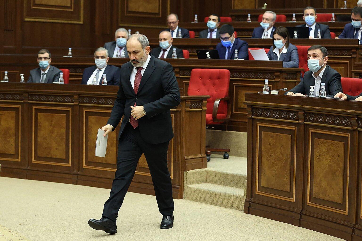 Πολιτικές εξελίξεις στην Αρμενία! Τέλος Απριλίου παραιτείται ο Πασινιάν!