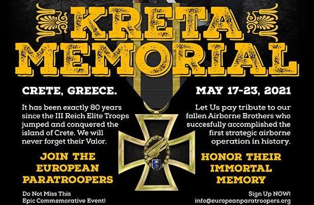 Οργή και ανησυχία! «Ευρωπαίοι αλεξιπτωτιστές» γιορτάζουν τα 80 χρόνια από την εισβολή των ναζί στην Κρήτη