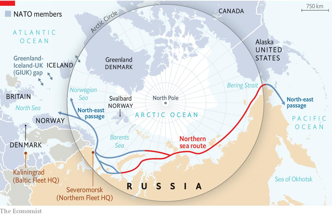 Η Τήξη των Πάγων του Αρκτικού Κύκλου και οι Επιπτώσεις της στην Γεωπολιτική Ισορροπία Δυνάμεων