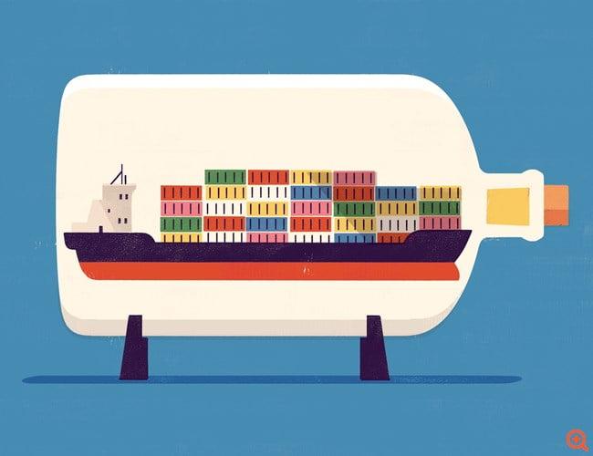 New York Times: Ο εγκλωβισμός του πλοίου στη Διώρυγα του Σουέζ ήταν σημαδιακός