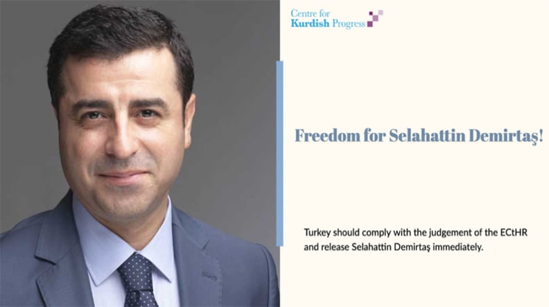 80 Βρετανοί βουλευτές υπέγραψαν το αίτημα για την ελευθερία του Σελαχατίν Ντεμιρτάς