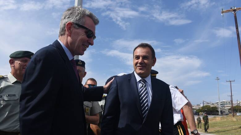 DEFENDER Europe 21: Στο Λιμάνι της Αλεξανδρούπολης Παναγιωτόπουλος & Πάιατ στις 7 Μαϊου