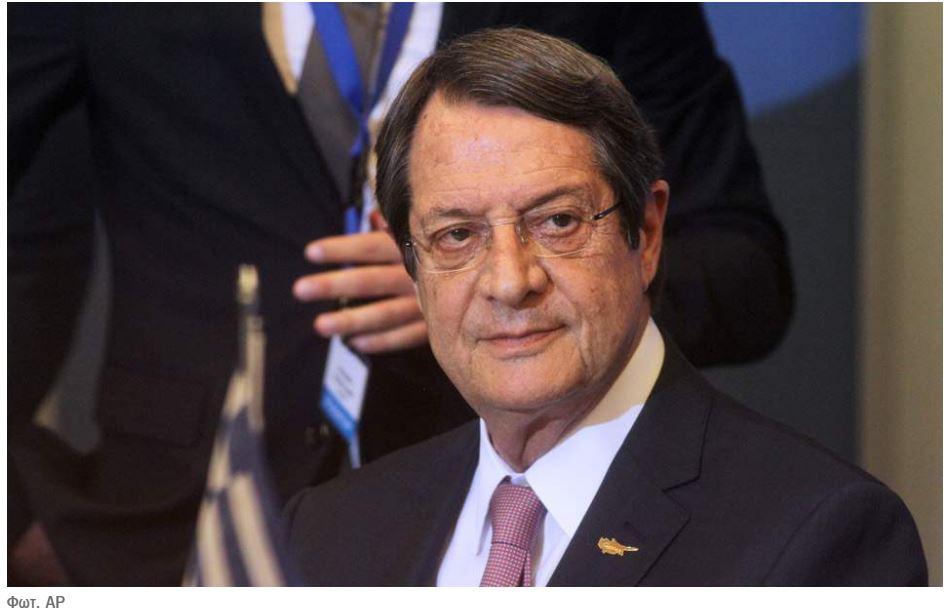 Ν. Αναστασιάδης: Βέτο στην τελωνειακή σύνδεση ΕΕ-Τουρκίας αν η Άγκυρα δεν τηρήσει τις υποχρεώσεις της