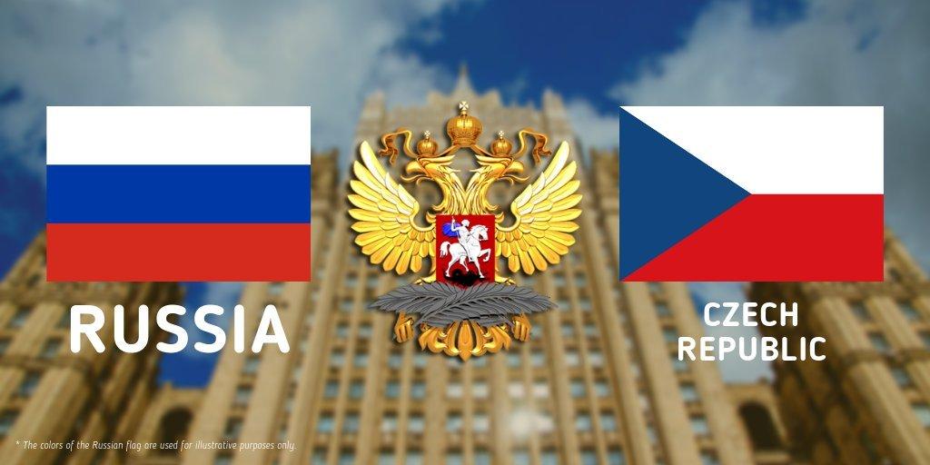 Η Ρωσία ετοιμάζεται να αντιδράσει στις απελάσεις διπλωματών της από την Τσεχία