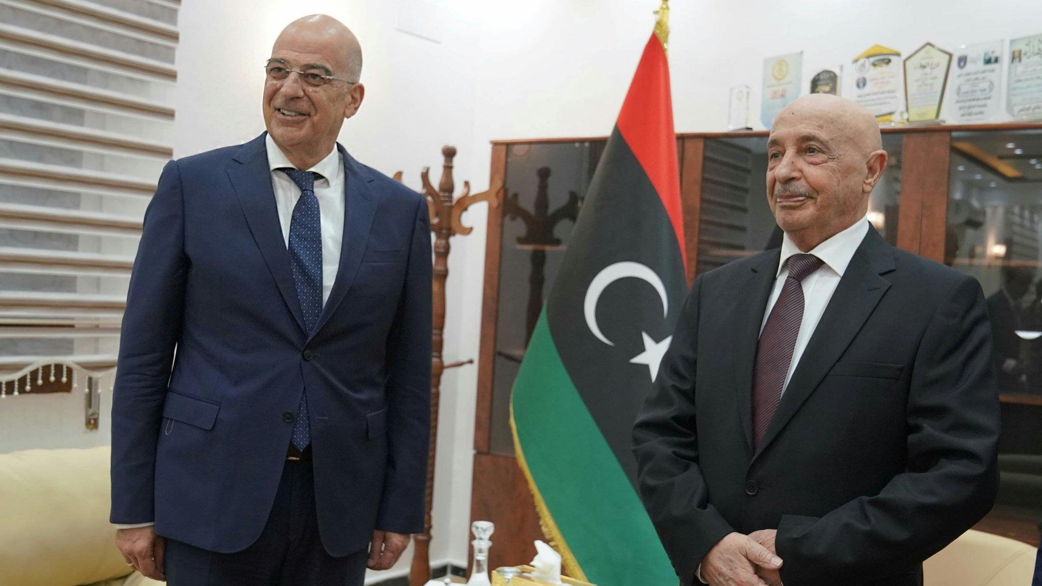 Επίσκεψη στη Βεγγάζη του Ν. Δένδια – Σε αναζήτηση συμμαχιών στη Λιβύη