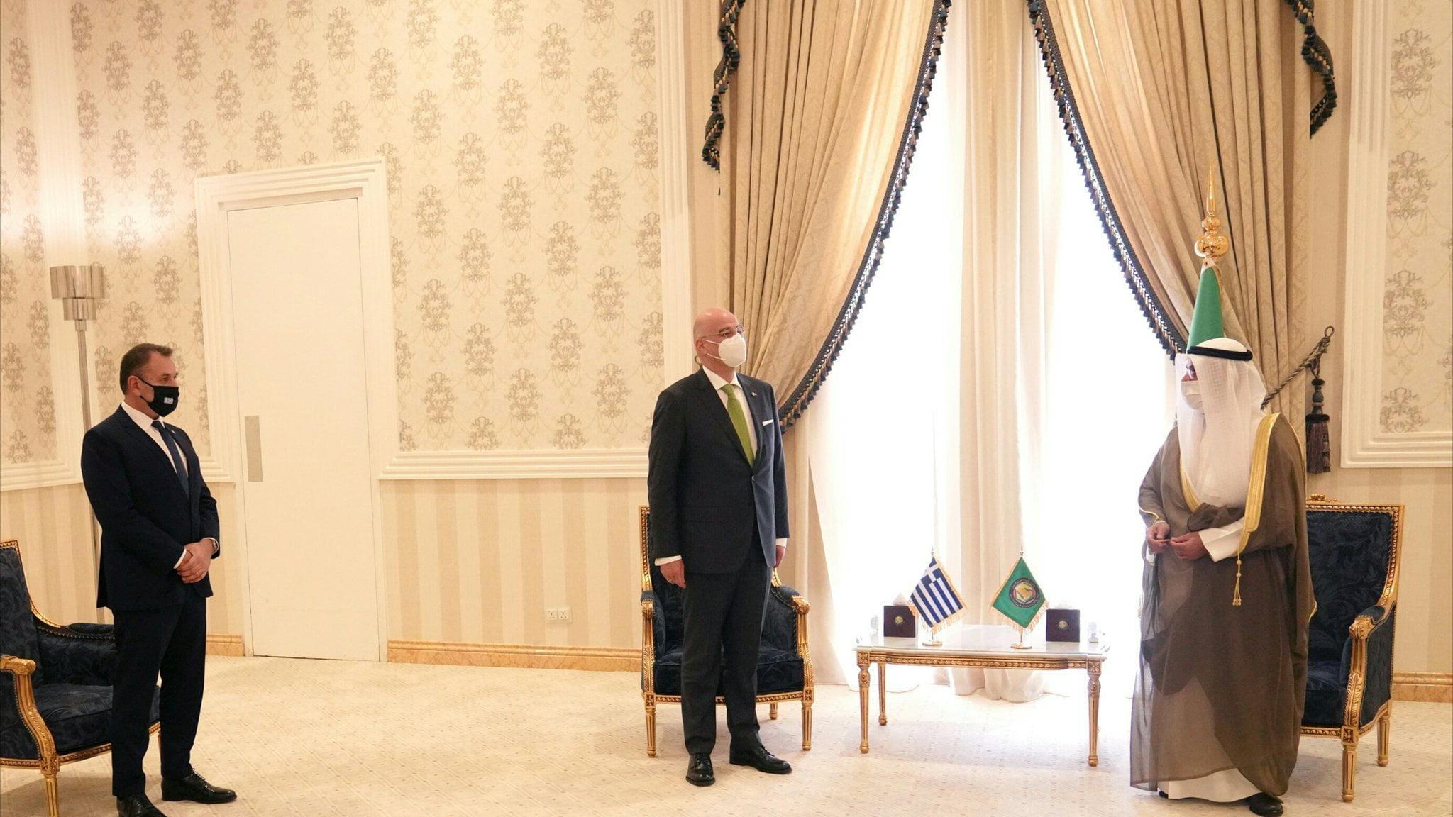 Ν. Παναγιωτόπουλος: Με τον Ν. Δένδια συναντήσαμε τον ΓΓ του Συμβουλίου Συνεργασίας του Κόλπου στο Ριάντ