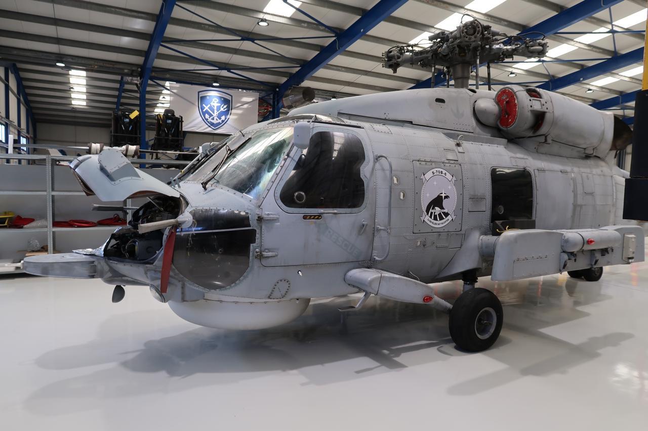 Δεύτερο ελικόπτερο S-70B6 μπήκε για συντήρηση, προς απόλυτη αποκατάσταση διαθεσιμοτήτων