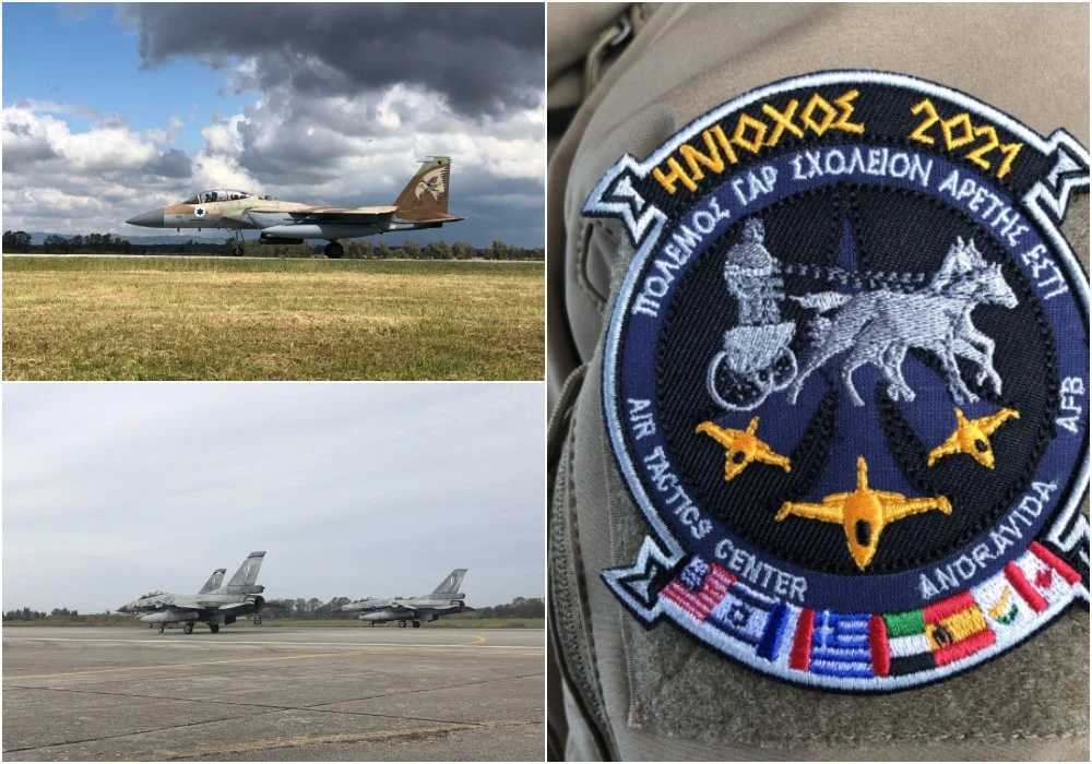 ΗΝΙΟΧΟΣ: Η μεγαλύτερη αεροπορική άσκηση της Ευρώπης και το μήνυμα στην Άγκυρα: 2.000 απογειώσεις και πτήσεις από Λήμνο έως Καστελόριζο