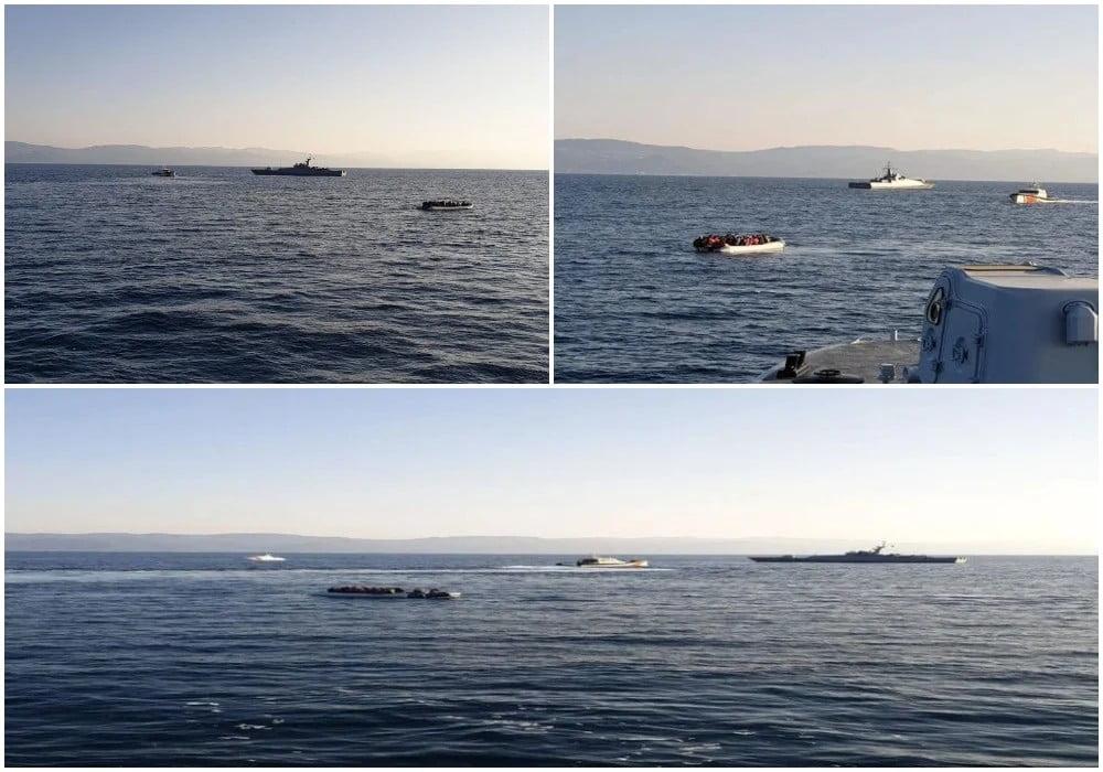 Προβοκάτσια «τύπου Έβρου» στο Αιγαίο από την Τουρκία με όπλο τους μετανάστες – Στήνουν «θερμό επεισόδιο» με παρενοχλήσεις
