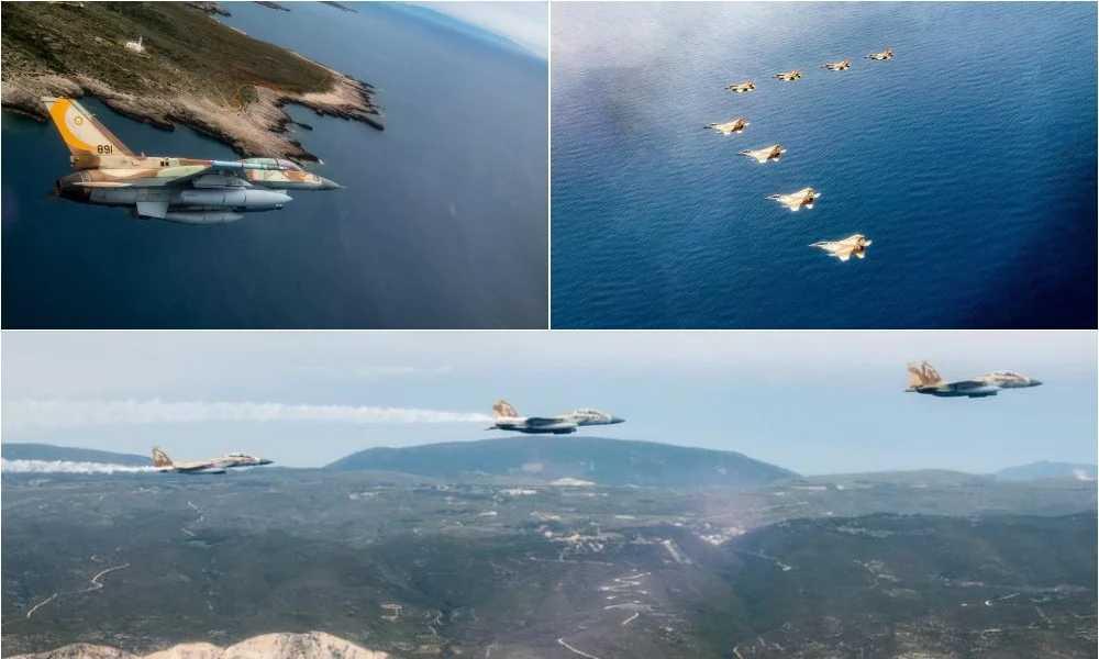 Το ισχυρό «χαρτί» της ελληνικής Πολεμικής Αεροπορίας – Η υψηλού επιπέδου εκπαίδευση που εντυπωσίασε Αμερικανούς και Ισραηλινούς