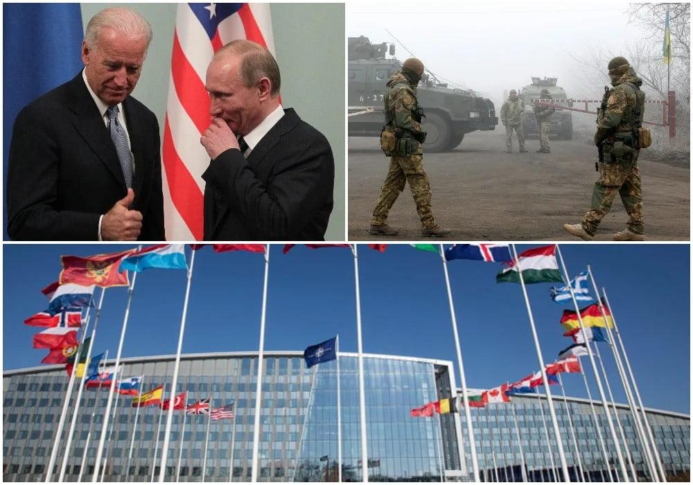 Θέατρο νέου Ψυχρού Πολέμου η Ουκρανία: Δυτικοί φόβοι για ρωσική εισβολή – Η επικοινωνία Μπάιντεν με Πούτιν και τα σενάρια της ΝΑΤΟϊκής αντίδρασης