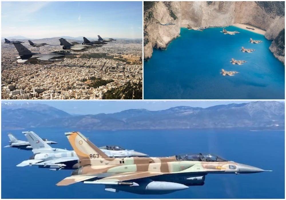 «ΗΝΙΟΧΟΣ» VS «ANATOLIAN EAGLE» : Το «ναυάγιο» της Τουρκικής αεροπορίας και η ψήφος εμπιστοσύνης στα «μπλε φτερά» – Η πτήση-μήνυμα πάνω από το Καστελόριζο