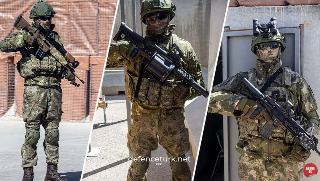 Βίντεο με οπλισμό των ειδικών δυνάμεων της Τουρκίας