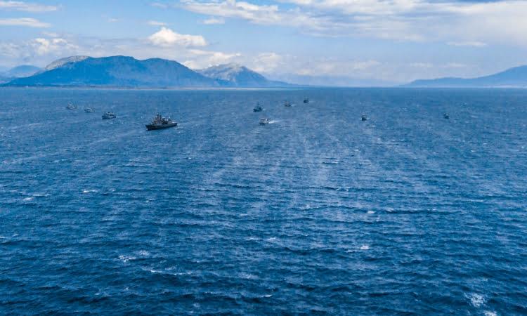 Πολυεθνική άσκηση ναρκοπολέμου με την ονομασία «Αριάδνη 21» διεξήχθη στον Πατραϊκό κόλπο