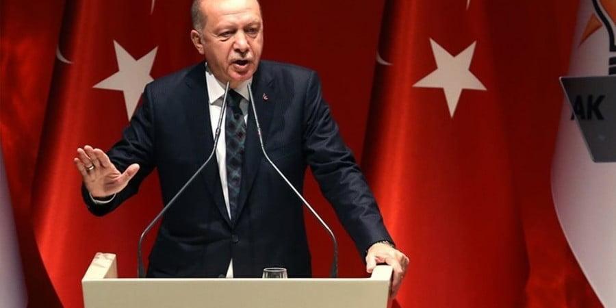 Νέες ύβρεις Ερντογάν: «Δεν εμπιστεύομαι τους Ε/κ, είναι ψεύτες, εξαπατούν»