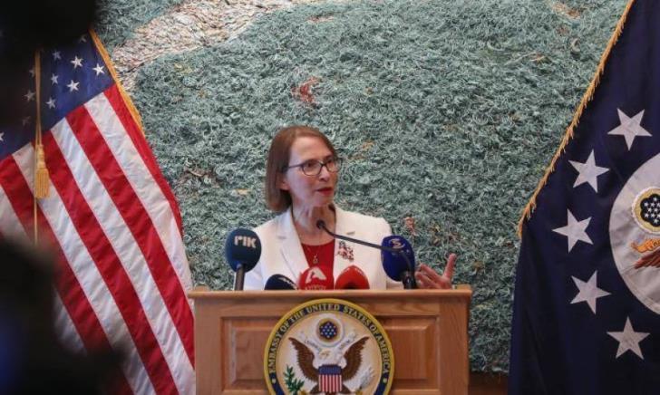 Μήνυμα της πρέσβειρας των ΗΠΑ στην Κύπρο, για την εκμετάλλευση υδρογονανθράκων