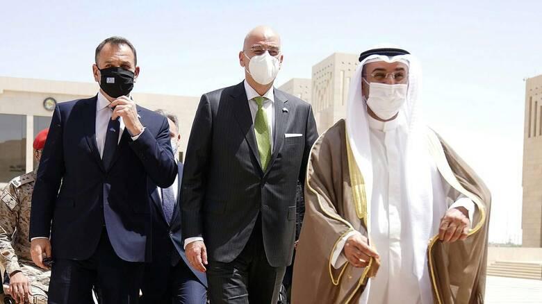 Δένδιας από Ριάντ: Σημαντική η επίσκεψή μας στη Σ. Αραβία