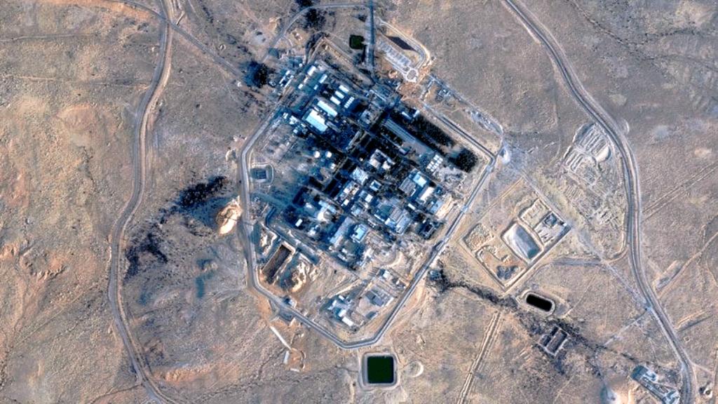 Μια ισραηλινή επίθεση στοχεύει τη Δαμασκό μετά από πτώση πυραύλου κοντά στον πυρηνικό σταθμό της Ντιμόνα