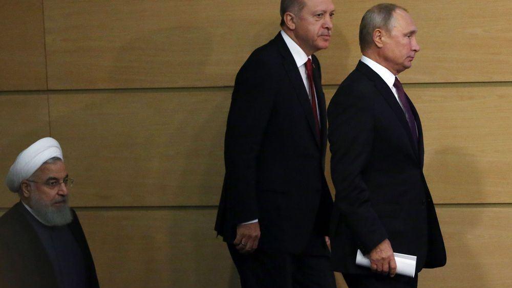 Πούτιν – Ερντογάν εγκαταλείπουν το Ιράν υπέρ των Αράβων