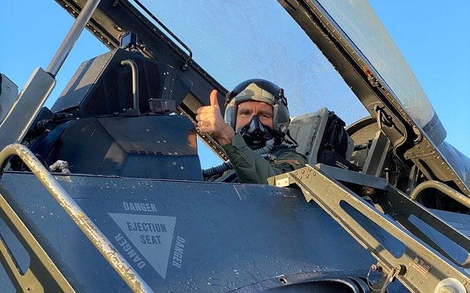 Τζέφρι Πάιατ: Μοναδική η γεωστρατηγική θέση της Ελλάδας – Συγκλονιστική η θέα της Ελλάδας από το πιλοτήριο του F-16