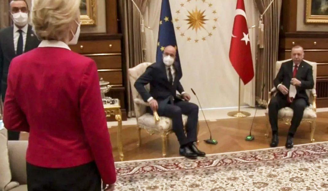 Γιατί η Ε.Ε. είναι νάνος – Ο εξευτελισμός της ντερ Λάιεν από τον Ερντογάν