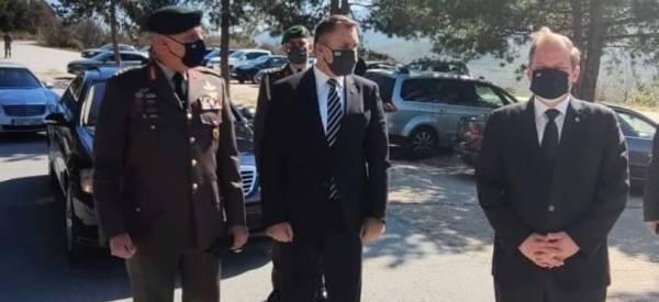 Στο Ρούπελ ο Υπουργός Αμύνης Νίκος Παναγιωτόπουλος! Τίμησε την 80η επέτειο της Μάχης των Οχυρών