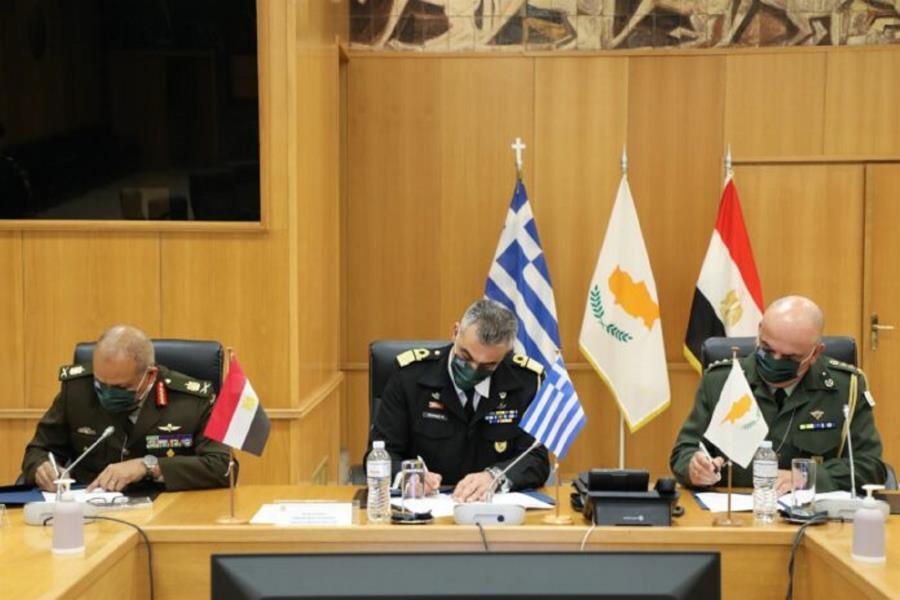 Πρόγραμμα τριμερούς στρατιωτικής συνεργασίας Ελλάδας- Κύπρου – Αιγύπτου
