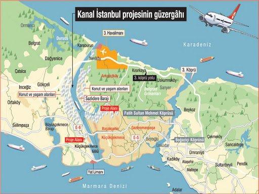Επιμένει ο Ερντογάν για τη διώρυγα της Κωνσταντινούπολης