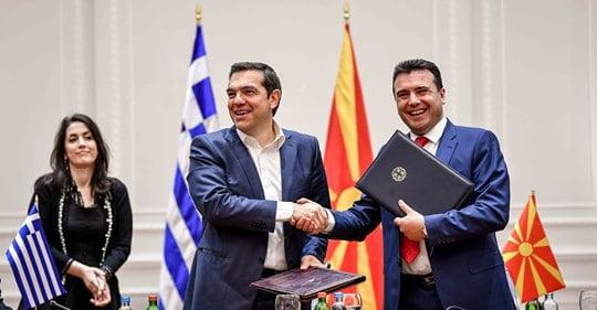 Ο Ζάεφ υμνεί τον Τσίπρα που προστάτευσε «τη μακεδονική μας ταυτότητα»