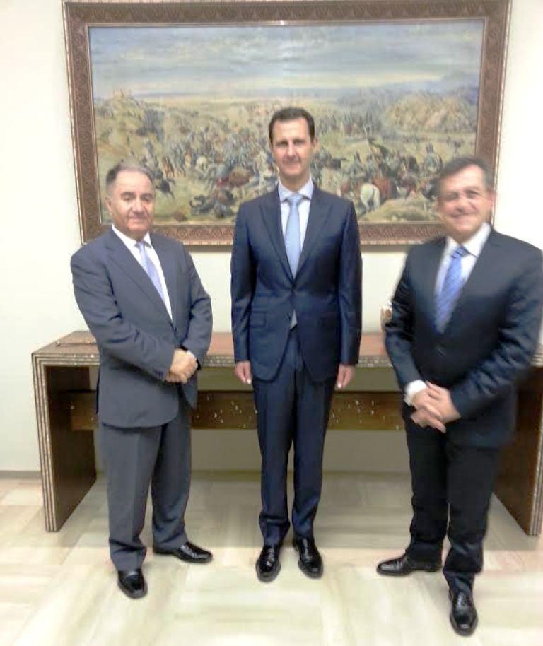 Εις μνήμην του Θεοδώρου Κατσανέβα: Οδοιπορικό της πρώτης Ελληνικής αποστολής στη Συρία και συνάντηση με τον Άσαντ.