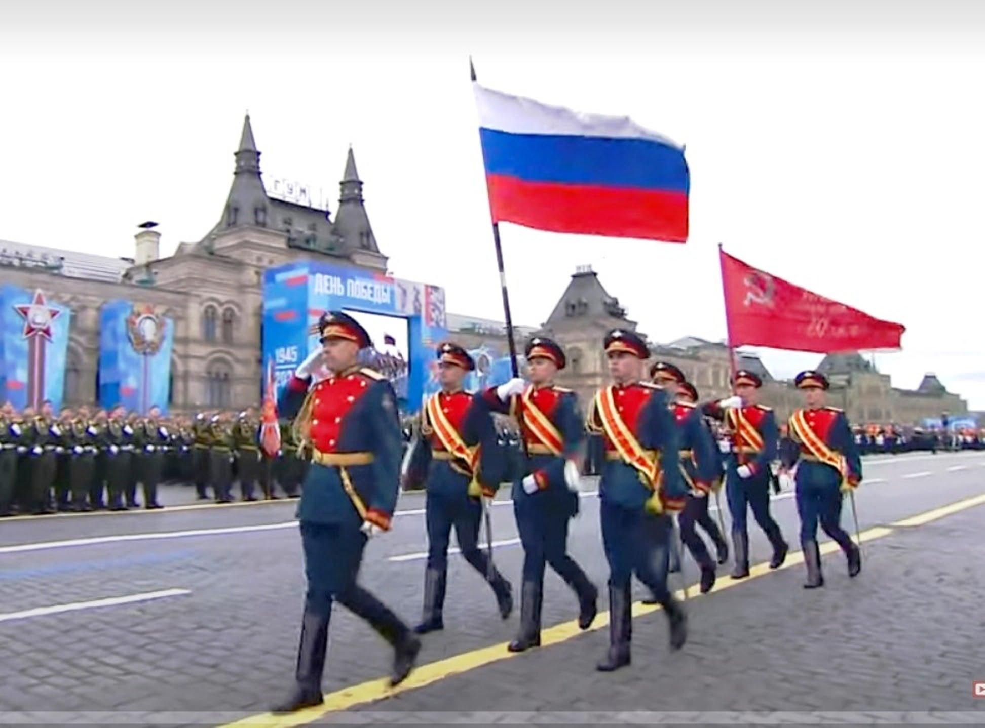 Ρωσία: Δείτε την στρατιωτική παρέλαση για την Ημέρα Νίκης [vid]