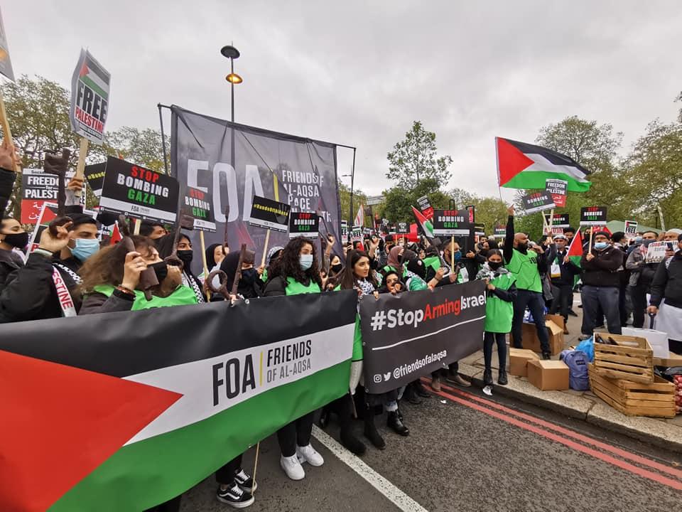 Διαδηλώσεις υπέρ των Παλαιστίνιων σε πολλές πόλεις της Ευρώπης και της Βόρειας Αμερικής