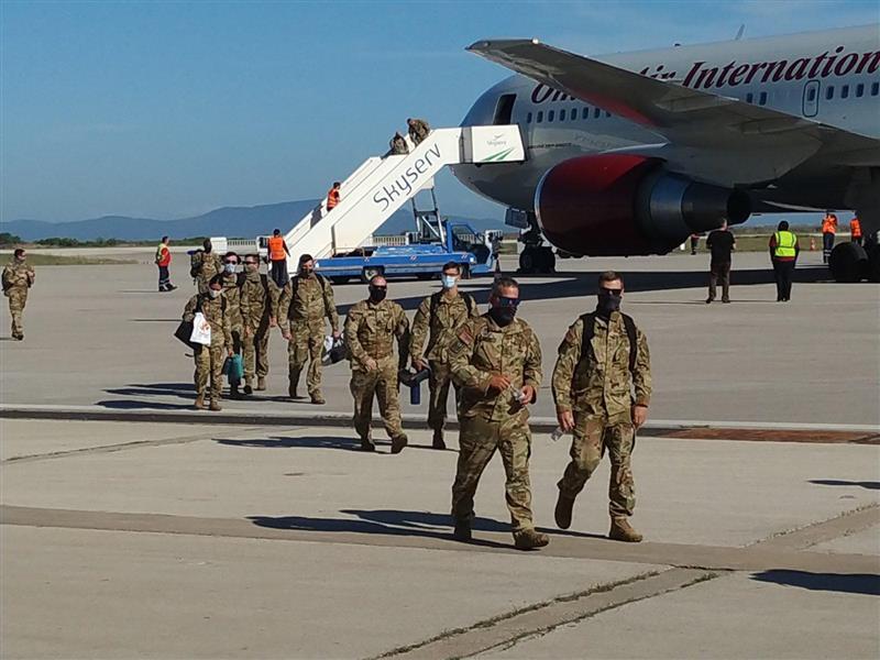"""Συνεχίζεται δυναμικά η αμερικανική """"απόβαση"""" στην Αλεξανδρούπολη"""
