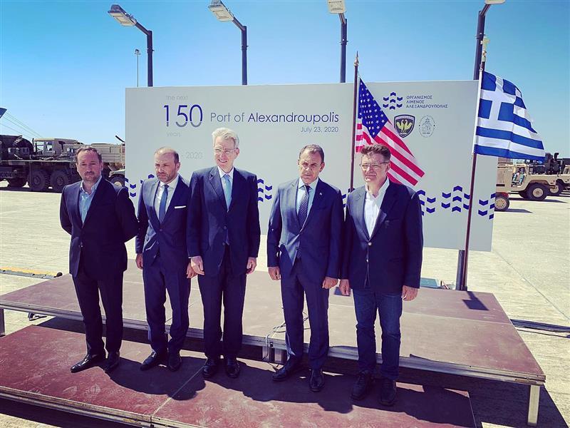 "DEFENDER Europe 21: Οι ""Ηχηρές"" παρουσίες στην Αλεξανδρούπολη"