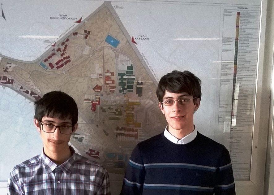 Νέες διακρίσεις για τους Δραμινούς αδερφούς Φωτιάδη στο Μαθηματικό Διαγωνισμό «ΘΑΛΗΣ»