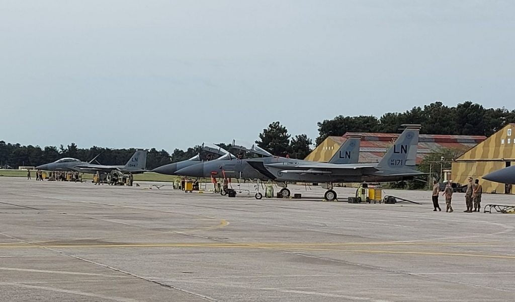 Αμερικανική… απόβαση στη Λάρισα: Ήρθαν τα F-15 για την άσκηση «Early Bird»