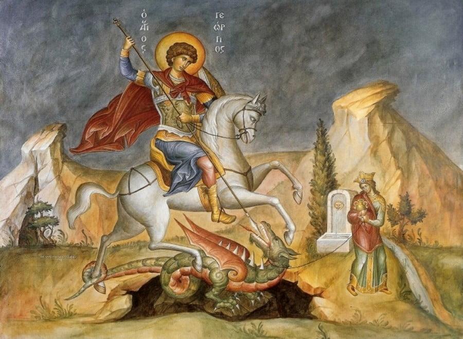 Ο Καππαδόκης Άγιος Μεγαλομάρτυς Γεώργιος ο Τροπαιοφόρος