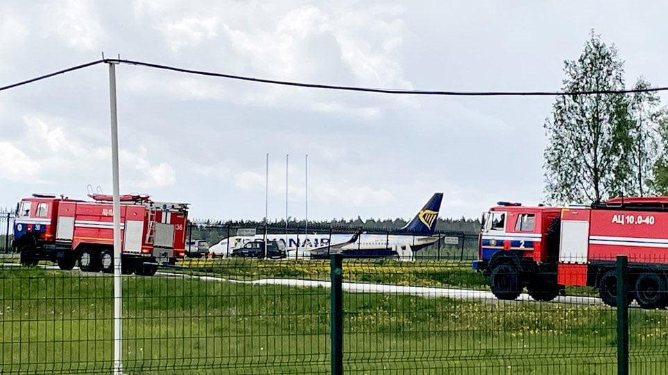 Αεροπειρατεία Λουκασένκο: Η Λευκορωσία έστειλε μαχητικό αεροσκάφος MiG-29 για να προσγειώσει την πτήση της Ryanair!