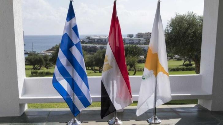 Συνάντηση Υπουργών Άμυνας Κύπρου, Ελλάδας και Αιγύπτου στη Λευκωσία