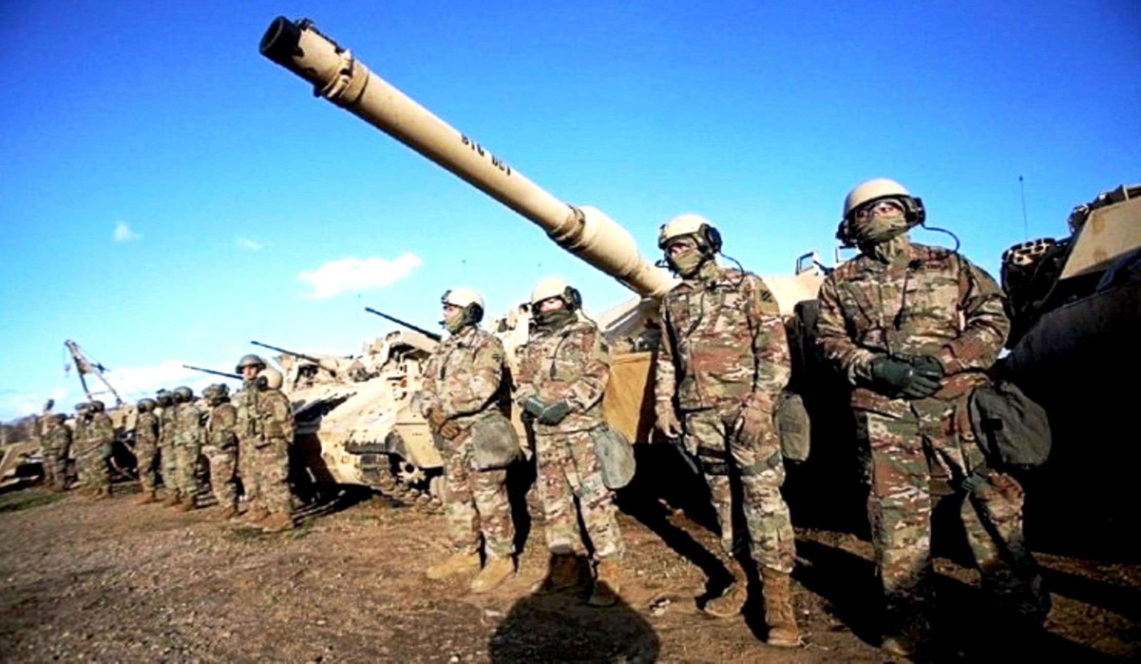Η Ευρώπη Γήπεδο Ασκήσεων της Στρατηγικής ΗΠΑ/ΝΑΤΟ