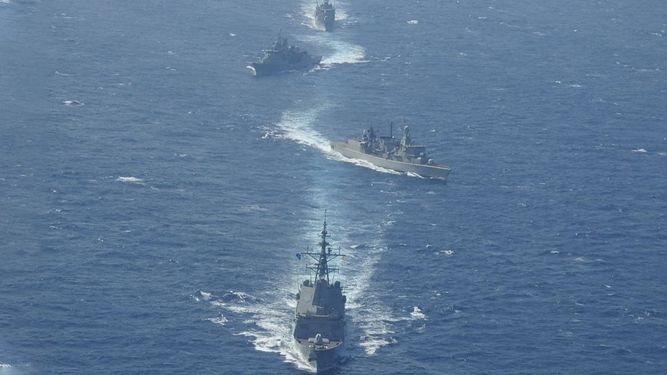 Πιο κοντά σε αμερικανικές φρεγάτες το Ελληνικό Πολεμικό Ναυτικό