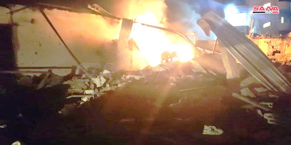 """Η Συρία απείλησε τη Dimona και το """"πράσινο"""" Ισραήλ ξεφόρτωσε σε μια αποθήκη πλαστικών υλικών… Γιατί χτύπησε τώρα το Ισραήλ…"""