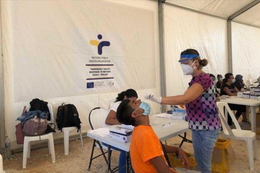 Λέσβος: «Έκρηξη» κορονοϊού στο ΚΥΤ του Καρά Τεπέ – Αρνούνται να εμβολιαστούν