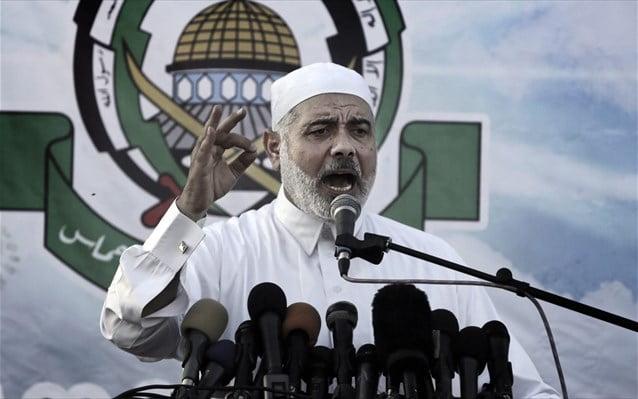 Ο Ισμαήλ Χανίγια της Χαμάς ευχαριστεί την Αίγυπτο που δέχεται τραυματίες