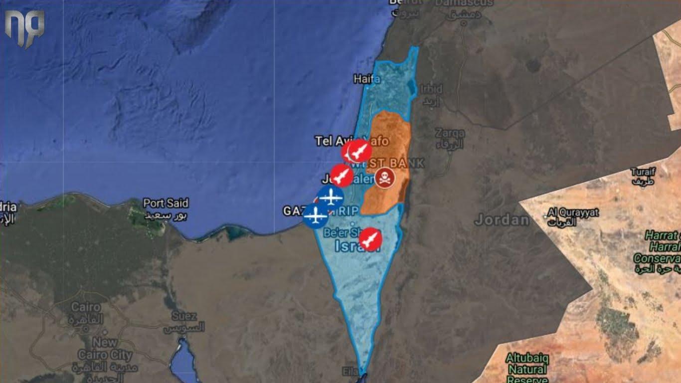 Ισραήλ – Γάζα | Όλες οι εξελίξεις από τις εχθροπραξίες – Νεκροί, τραυματίες και κλιμάκωση της έντασης – ΧΑΡΤΗΣ - Infognomon Politics