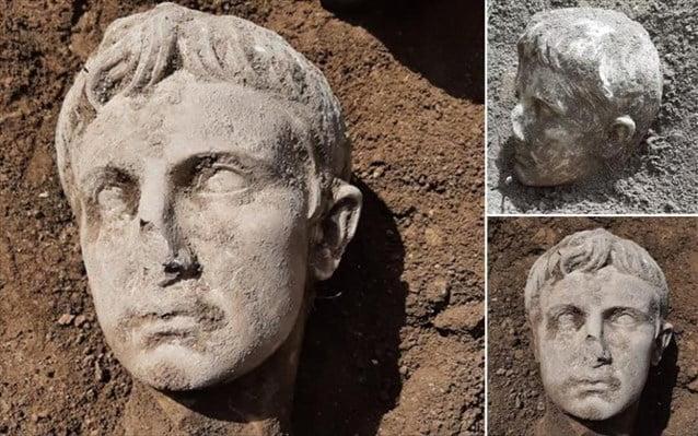 Ιταλία: Στο φως μαρμάρινη κεφαλή του πρώτου Ρωμαίου Αυτοκράτορα