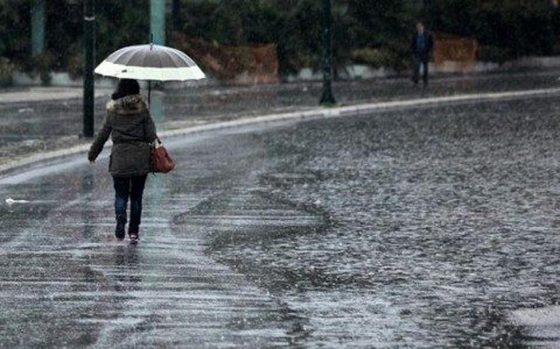 ΕΜΥ: Έκτακτο δελτίο καιρού με χαλάζι και ισχυρούς ανέμους