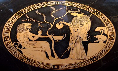 H σχέση των αρχαίων Ελλήνων με το ποτό